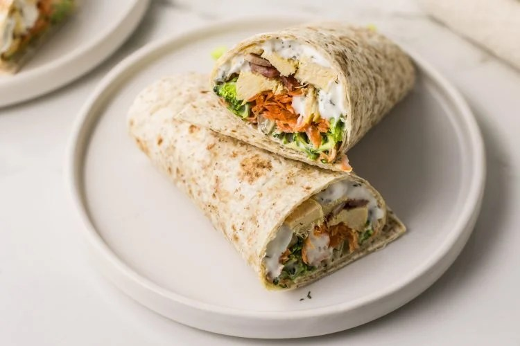 Chicken and bacon in one nutritious and delicious wrap