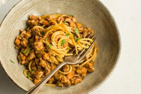 Turkey Pasta Bolognese Recipe
