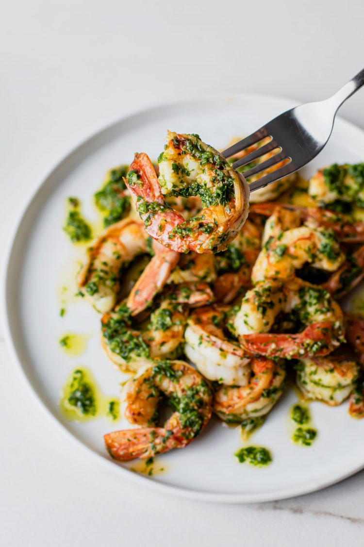 Prawns that are just as good for a leftover lunch the next day!