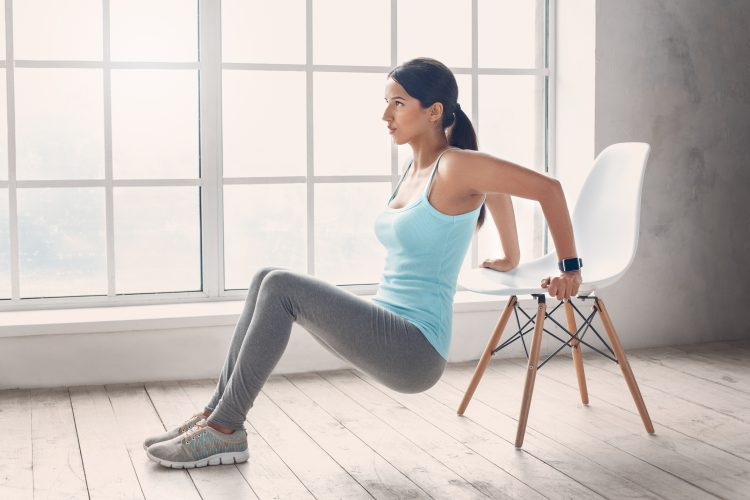 How To Set Up A Home Gym On A Budget: Use A Chair For Full Body Exercise!