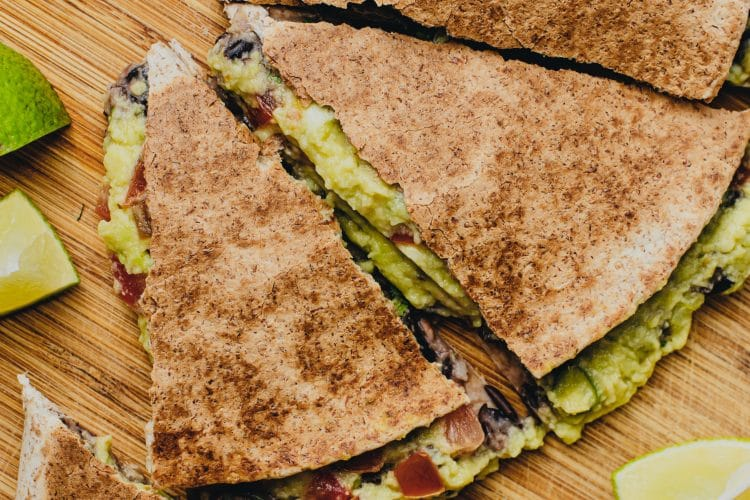 Warm, tasty, and oh so satisfying, indulge in these quesadillas without feeling guilty.