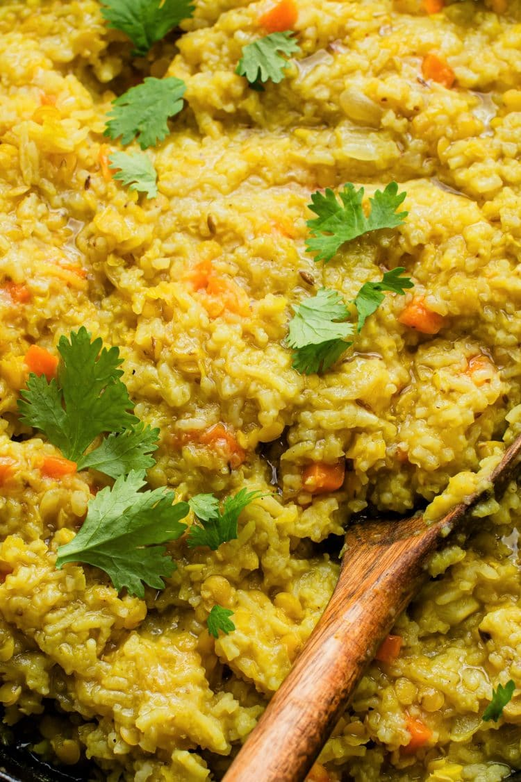 If you are looking for a simple midweek dinner this Indian kitchiri is for you!