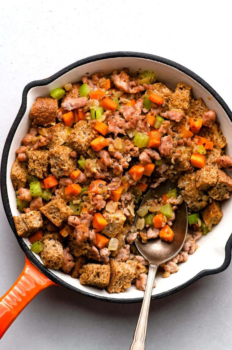 This healthy filling is the perfect addition to your vacation meal!