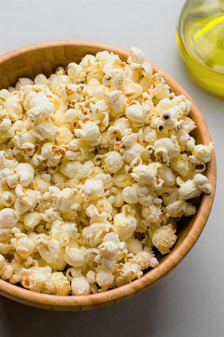 A healthy snack for the family movie night!