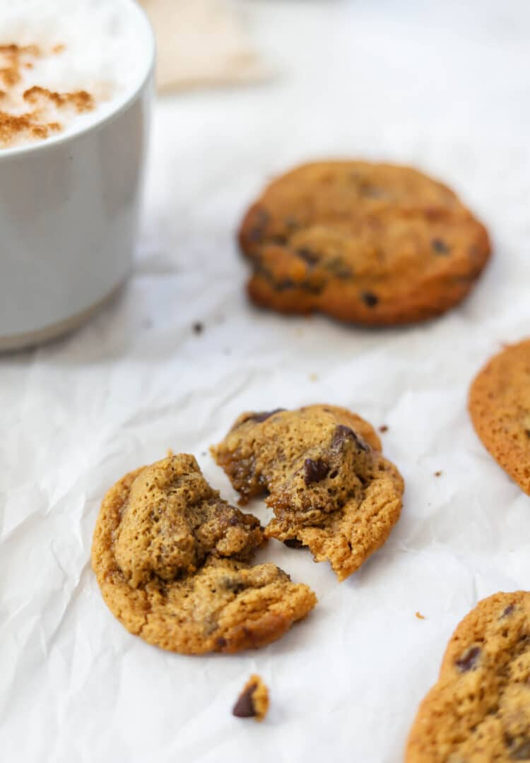 These chewy cookies are gluten free too!