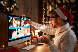 Celebrate the holidays with loved ones no matter where you are!