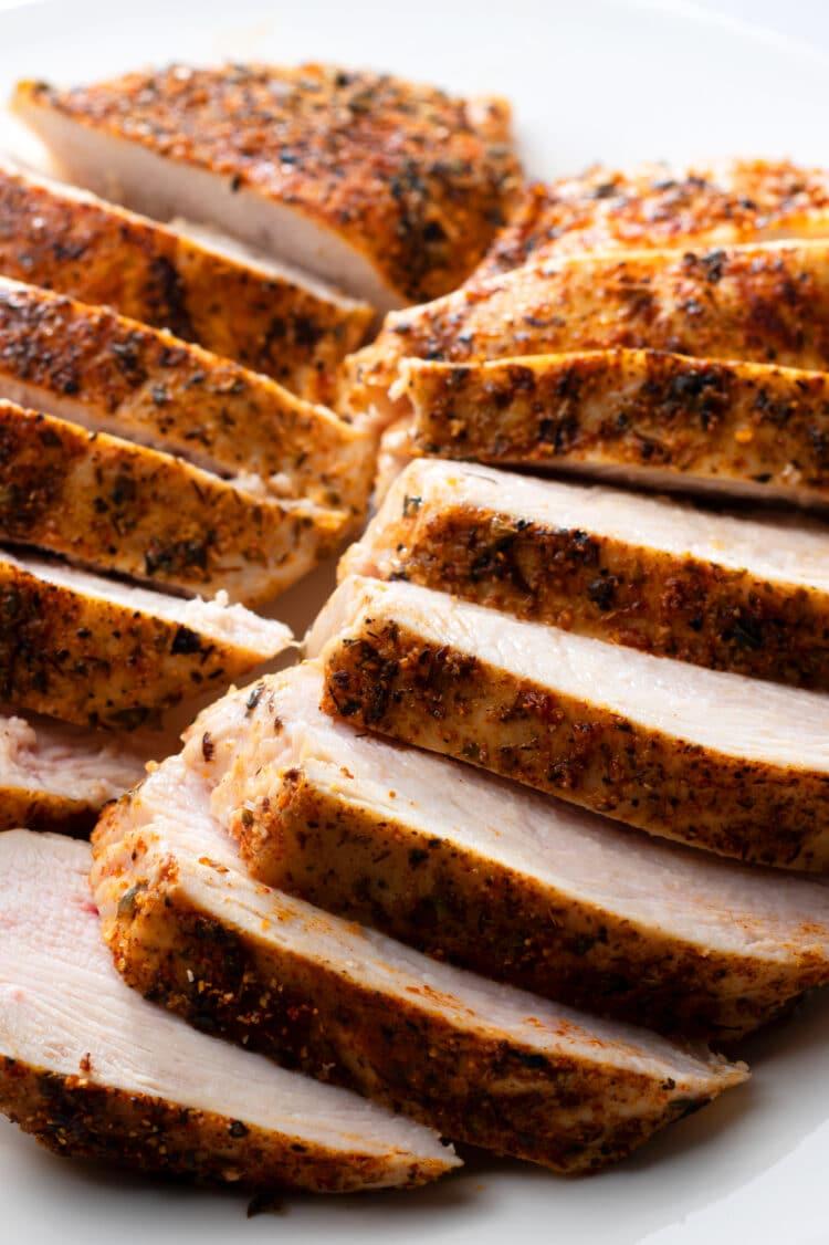 Enjoy this tasty chicken in different meals!