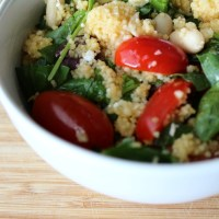 Mediterranean Cannellini Couscous Salad