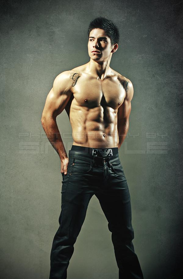 Tom Imanishi fitness model