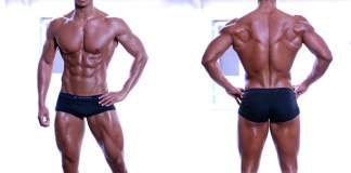 Nassim Sahili fitness model