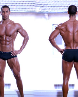 Nassim Sahili fitness model