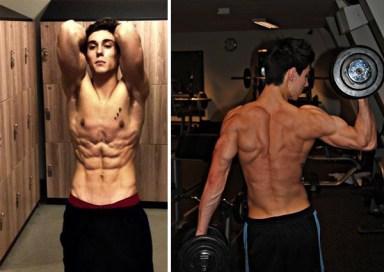 Benjamin Cardel at gym
