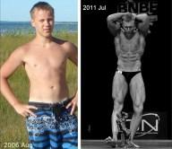Justin Degutis transformation