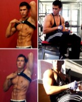Kike Gil at gym