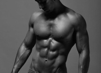 Omar El Sheikh six pack abs