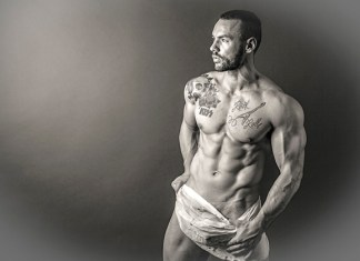 Eric Leto - fitness model interview for Skinny Muscles
