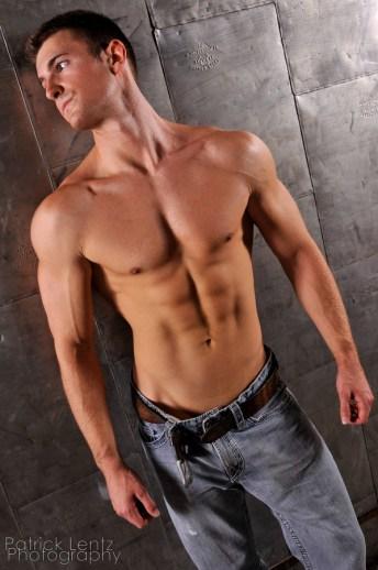 Nate Tebow posing