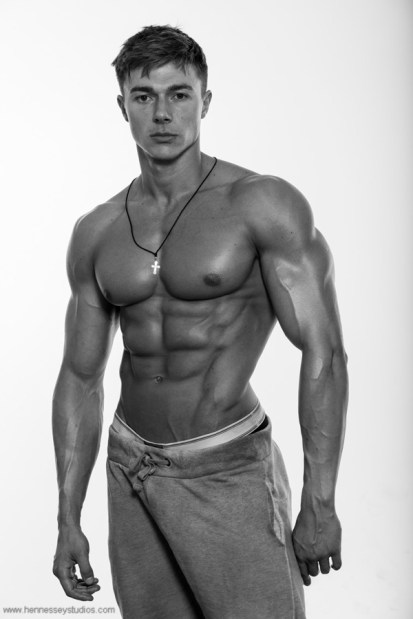 Alexandru Ceobanu - personal trainer and fitness model