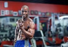 Shaka Smith in the gym