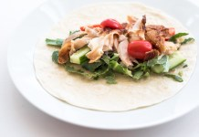 chicken wraps with kale recipe