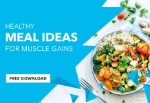 muscle gain diet, healthy meal ideas