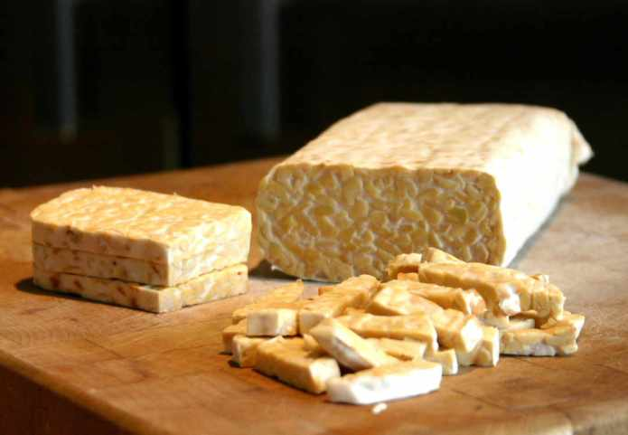 tempeh, vegetarian protein source, meat alternative