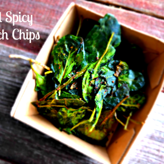 How to make Spicy Spinach Chips