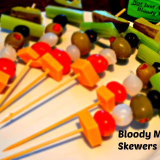 Sushi – Bloody Mary Skewers &Roll Ups