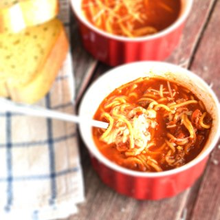 Spaghetti Soup Recipe