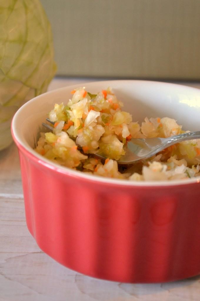 How To Make Raw Sauerkraut step by step tutorial