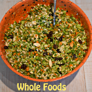 Whole Foods Detox Salad (Weight Loss)