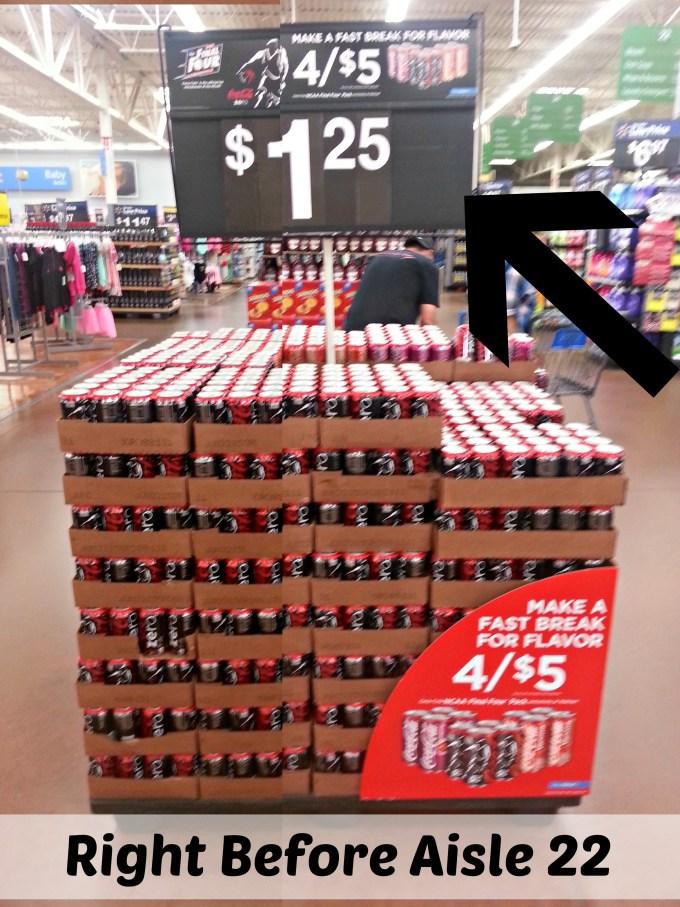 Coke Zero, Vanilla Coke and Cherry Coke  Cans