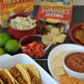 Game Time Cheez-it Breaded Chicken Taco's