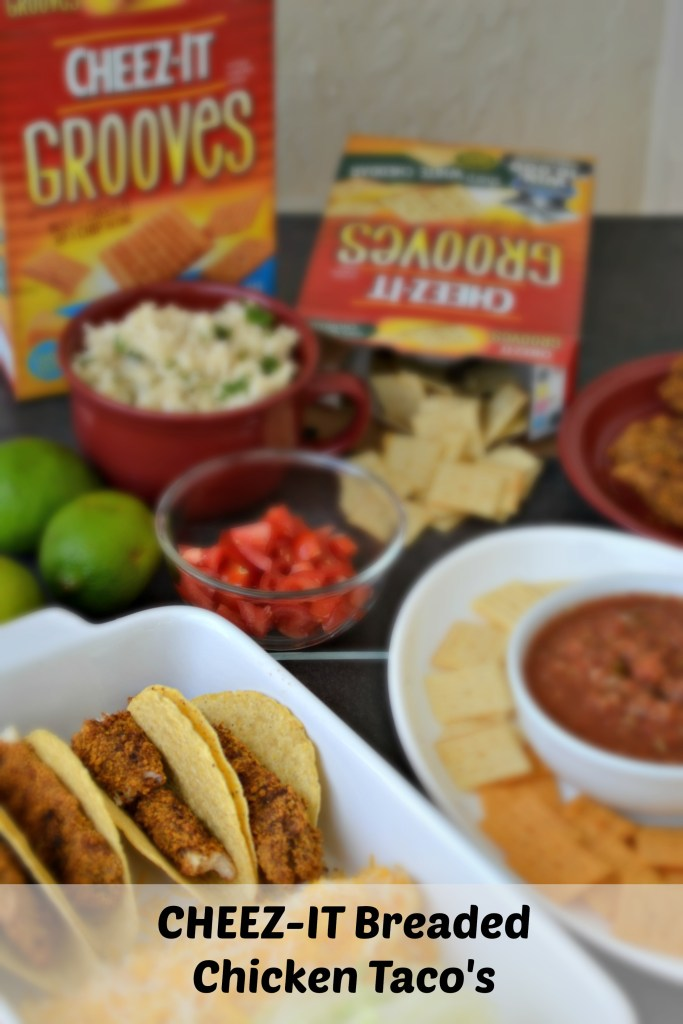 Cheez-It Breaded Tacos