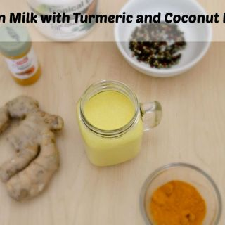 Golden Milk Recipe with Turmeric and Coconut Oil