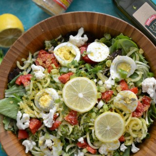 Detox Arugula Salad with Nutritional Yeast Benefits