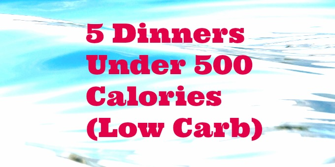 5 Healthy Dinners Under 500 Calories (Low Carb)