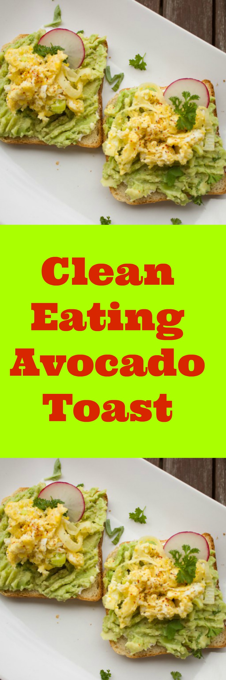 Detox your system with this approved clean eating avocado toast with egg and radish. Low carb meals for weight loss made easy. Choose the right Diet and exercise and you will achieve your goals.