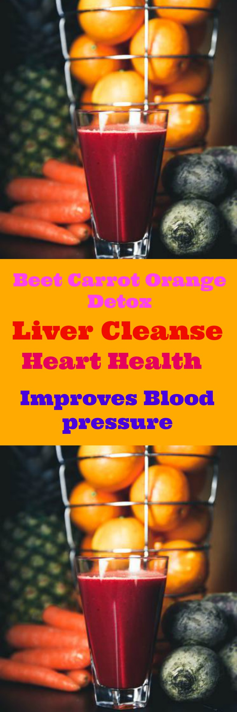 Beet Orange Carrot Detox Drink. Cleanse your liver and lose weight. Supports Metabolism, boost energy and reduce bloating. Succeed with your Weightloss goals.