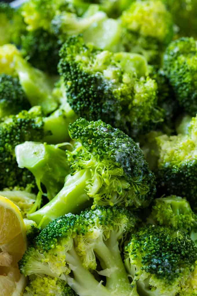 Lemon Butter Broccoli makes a healthy, low carb side.