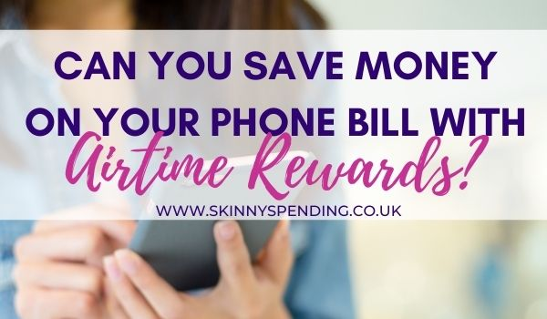 Airtime Rewards App – Save money on your phone bill