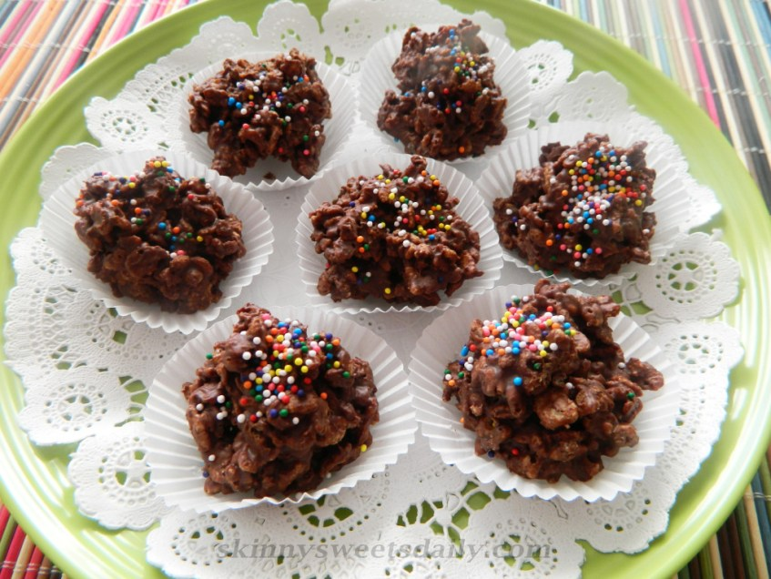 Easy Milk Chocolate Crunchy Bites