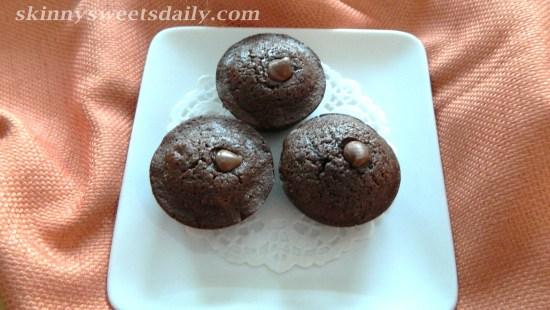 Mini Skinny Nutella Cupcake/Muffins
