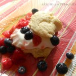 Healthy And Delicious Strawberry Blueberry Shortcake