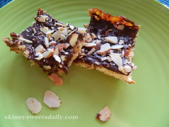 Pam's Skinny Chocolate Coconut Bars