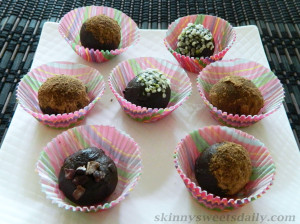Decadent Chocolate Tahini Truffles