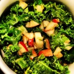 Kale, Apple, Lemon and Ginger Salad
