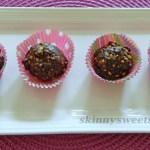 Crunchy Protein Quinoa Chocolate Truffles