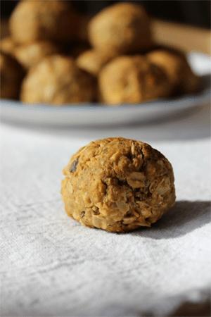 Pistachio Peanut Butter Energy Bites