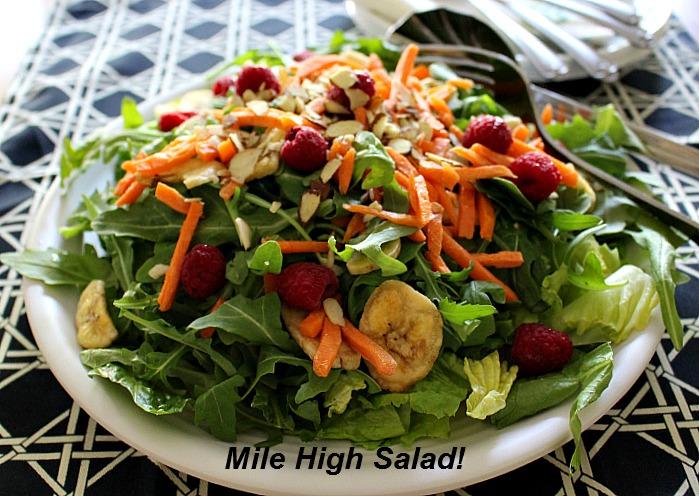 Mile HighRestaurantStyle Salad